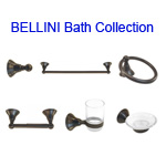View detail information about 'Oil-rubbed Bronze Bellini Bath Accessories 6 piece Collection' - Bellini Collection