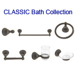 View detail information about 'Oil-rubbed Bronze Classic Bath Accessories 6 piece Collection' - Classic Collection