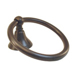 View detail information about 'Solid Brass Bath Accessories Bellini Bath Towel Rings Oil Rubbed Bronze' - Bellini Collection