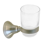 View detail information about 'Solid Brass Bath Accessories Bellini Bath Tumbler Holders Satin Brushed Nickel' - Bellini Collection