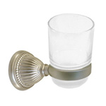 View detail information about 'Solid Brass Bath Accessories Classic Bath Tumbler Holders Satin Brushed Nickel' - Classic Collection